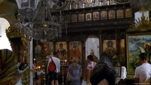 Иконы в Килифаревском монастыре