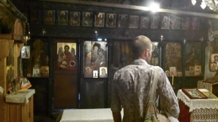 Иконы в монастыре Арбанаси