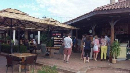 Кафе по дороге в Велико Тырново