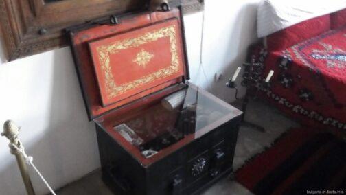 Купеческий сейф в этнографическом доме
