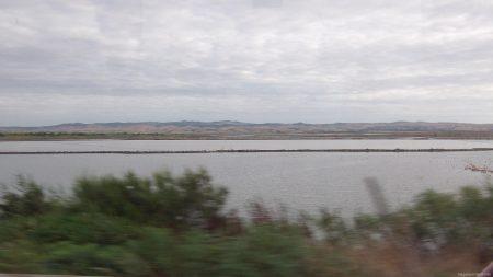 Поморийское озеро, где добывают соль