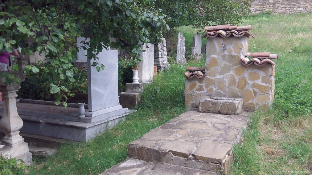 Чешма в монастыре Святой Богородицы